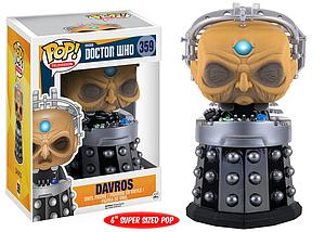Pop! Television Doctor Who Vinyl Figure Davros #359 (Vaulted)