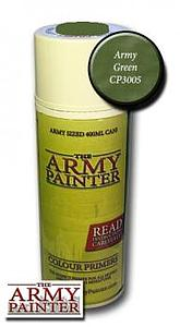 The Army Painter Colour Primers Spray Cans: Army Green
