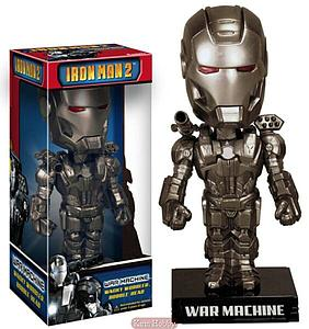 Wacky Wobblers Iron Man 2 Bobbleheads: War Machine
