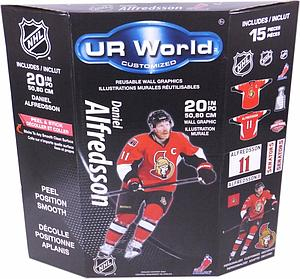 UR World Customized Wall Decals: Daniel Alfredsson