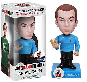 Wacky Wobblers Big Bang Theory Star Trek Bobbleheads: Sheldon