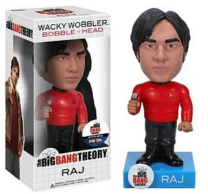Wacky Wobblers Big Bang Theory Star Trek Bobbleheads: Raj