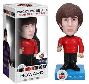 Wacky Wobblers Big Bang Theory Star Trek Bobbleheads: Howard