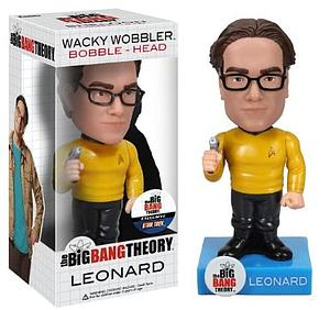 Wacky Wobblers Big Bang Theory Star Trek Bobbleheads: Leonard