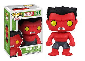 Pop! Marvel Vinyl Bobble-Head Red Hulk #31 (Retired)