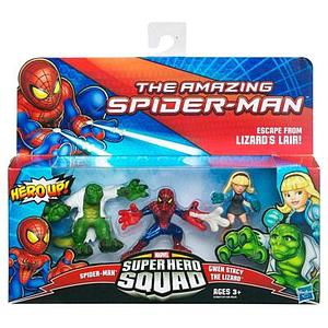 "Marvel Super Hero Squad 2"" 3-Pack: Escape Lizard's Lair"