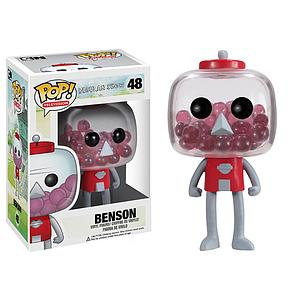 Pop! Telvision Regular Show Vinyl Figure Benson #48 (Retired)