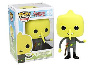 Pop! Television Adventure Time Vinyl Figure Lemongrab #53 (Vaulted)