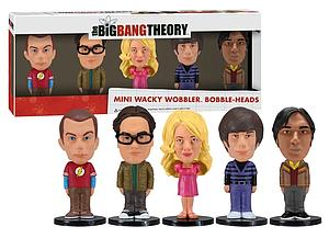 Wacky Wobblers Big Bang Theory Mini Bobbleheads: 5-Pack