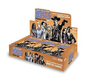 Cryptozoic The Walking Dead Comic Book Series 2 Trading Cards: Sealed Box
