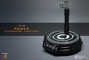 Action-TT 1/6 Figure Power Illuminated Turntable