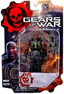 "Gears of War 2"": Augustus Cole with Lancer"