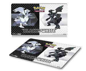 Pokemon TCG Playmat: Black & White Reshiram & Zekrom