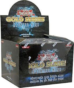 YuGiOh Trading Card Game Gold Series 5 Haunted Mine: Booster Box (5 Packs)