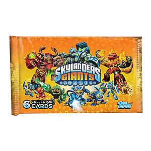 Topps Skylanders Giants Trading Cards: Booster Pack