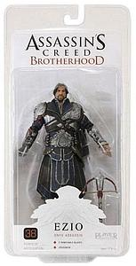 "Assassin's Creed Brotherhood 7"": Ezio Unhooded Onyx Assassin"