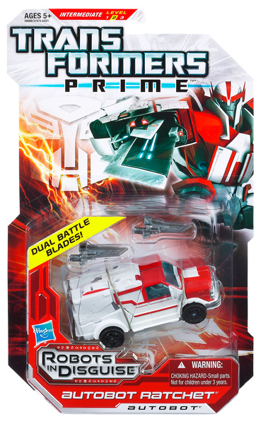 Transformers Prime Deluxe Class: Ratchet
