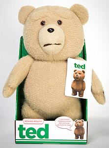 Ted 16 Inch Talking Plush Doll: R-Rated Moving Mouth