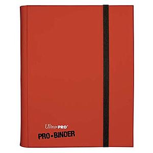 9-Pocket Pro-Binder: Red