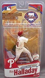 MLB Sportspicks Series 26: Roy Halladay (Philadelphia Phillies) Grey Jersey (Bronze Chase)