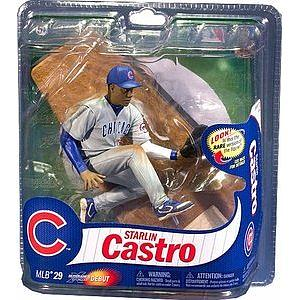 MLB Sportspicks Series 29: Starlin Castro (Chicago Cubs) Grey Jersey (Bronze Chase)