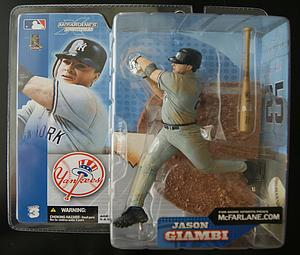 MLB Sportspicks Series 3: Jason Giambi (New York Yankees) Grey