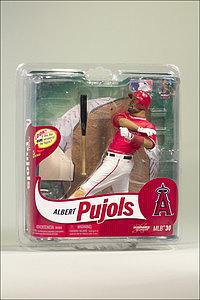 MLB Sportspicks Series 30: Albert Pujols (Anaheim Angels) Red