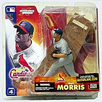 MLB Sportspicks Series 4: Matt Morris (St- Louis Cardinals) Grey Jersey Variant