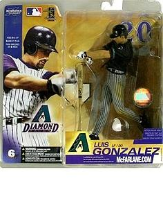 MLB Sportspicks Series 6: Luis Gonzalez (Arizona Diamondbacks) Black