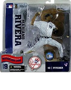 MLB Sportspicks Series 9: Mariano Rivera (New York Yankees) White Jersey Variant