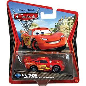 Mattel Disney Cars Die-Cast 1:55 Scale Toy: Lightning Mcqueen #3