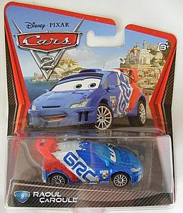 Mattel Disney Cars Die-Cast 1:55 Scale Toy: Raoul Caroule #9