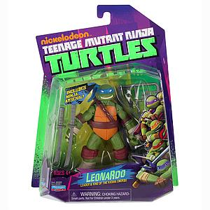 Nickelodeon Playmates Teenage Mutant Ninja Turtles: Leonardo (Canadian Packaging)
