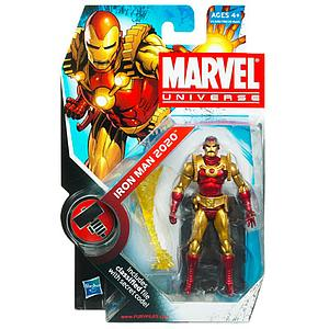 "Marvel Universe 3 3/4"" 2010 Series 11: #33 Iron Man"