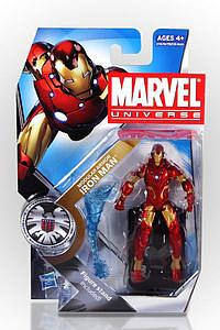 "Marvel Universe 3 3/4"" 2010 Series 12: #4 Modular Armour Iron Man"