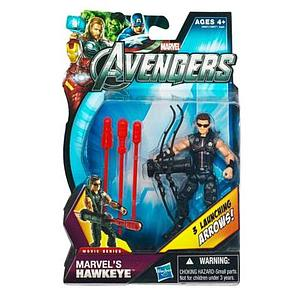 Marvel Universe Avengers Movie 4 Inch: Hawkeye (With Glasses) [US Packaging]