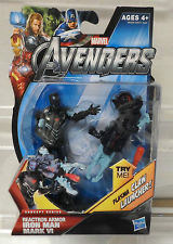 Marvel Universe Avengers Movie 4 Inch: Reactron Armour Iron Man Mark VI (Plasma Claw Launcher)