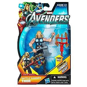 "Marvel Universe Avengers Movie 4"": Battle Hammer Thor (Expanding Hammer Head)"