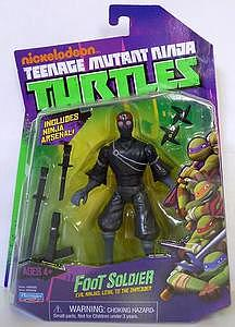 Nickelodeon Playmates Teenage Mutant Ninja Turtles: Foot Soldier (US Packaging)
