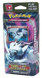 Pokemon Trading Card Game: Black & White Next Destinies Theme Deck Explosive Edge  (Reshiram)