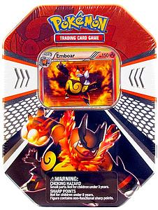 Pokemon Trading Card Game Black & White Fall Tins 2011: Emboar