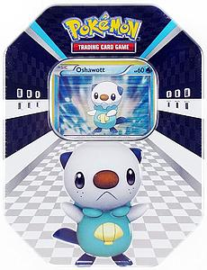 Pokemon Trading Card Game Black & White Spring Tins 2011: Oshawott