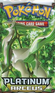 Pokemon Trading Card Game: Platinum Arceus Booster Pack