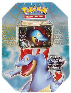 Pokemon Trading Card Game Heartgold & Soulsilver Spring Tins 2010: Feraligatr