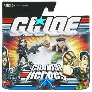 G.I Joe Combat Heroes 2-Packs: Baroness & Flint