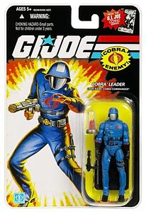 "G.I. Joe 25th Anniversary 3 3/4"" Wave 8: Cobra Commander (Cobra Leader)"