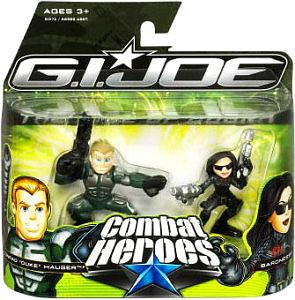 G.I Joe Combat Heroes 2-Packs: Duke & Baroness