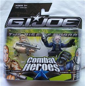 G.I Joe Combat Heroes 2-Packs: Duke & Cobra Commander