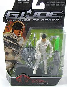 "G.I. Joe Movie The Rise of Cobra 3 3/4"": Storm Shadow (Paris Pursuit)"