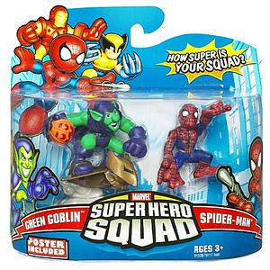 "Marvel Super Hero Squad 2"" 2-Pack: Green Goblin & Spider-Man"